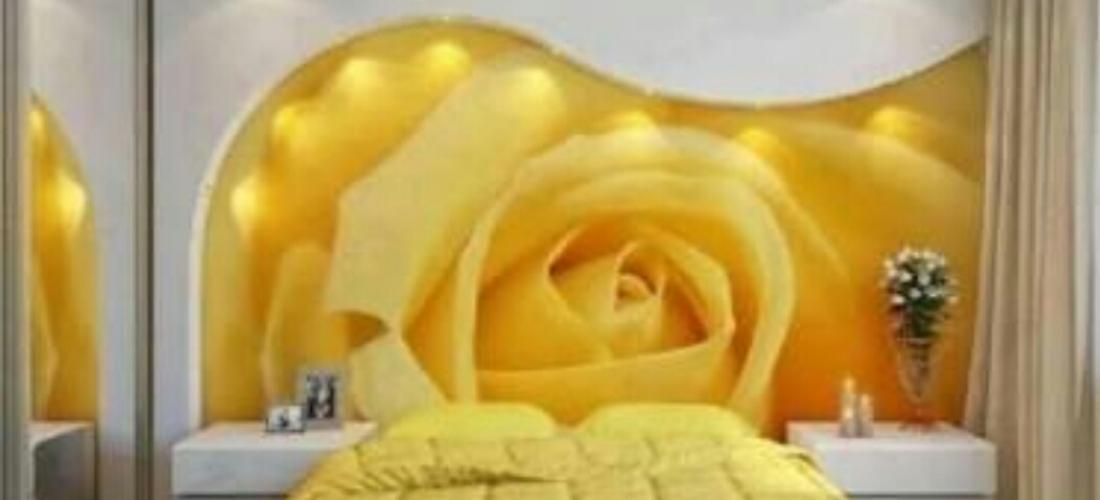 Cama decorada, forro